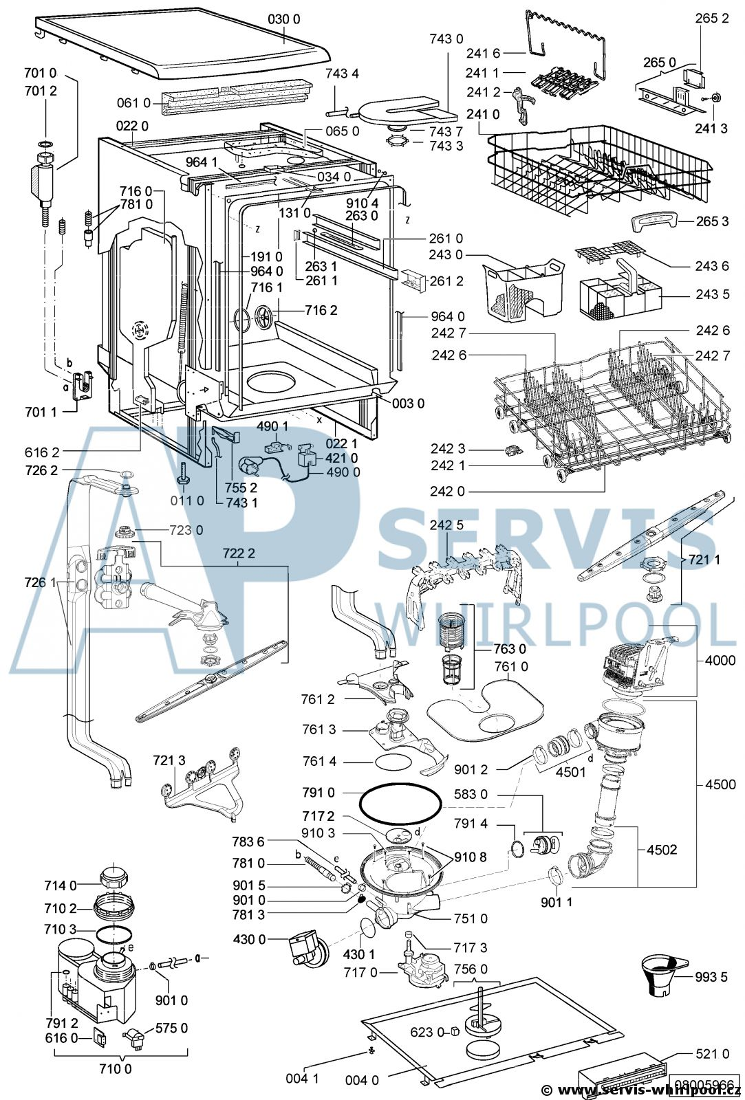 Adp 6937 Wh Servis Whirlpool