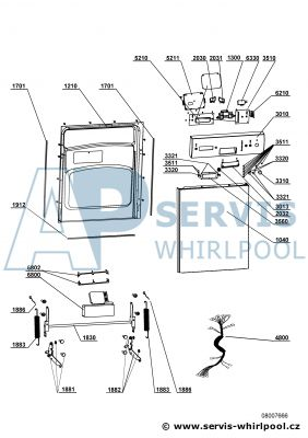 Fabulous ADP 750 WH | Servis Whirlpool GM89